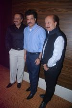 Anil Kapoor, Anupam Kher, Sachin Khedekar at Bilingual film Chhodo Kal Ki Baatein film launch in Novotel, Mumbai on1st March 2012 (54).JPG