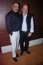 Anupam Kher, Sachin Khedekar at Bilingual film Chhodo Kal Ki Baatein film launch in Novotel, Mumbai on1st March 2012 (36).JPG
