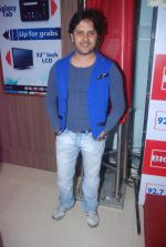 Javed Ali at Love is In the air big fm album launch in Big Fm on 1st March 2012 (32).JPG