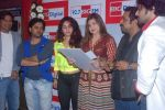 Neha Bhasin, Alka Yagnik, Babul Supriyo, Shaan, Javed Ali, Shankar Mahadevan  at Love is In the air big fm album launch in Big Fm on 1st March 2012 (70).JPG