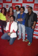 Neha Bhasin, Alka Yagnik, Babul Supriyo, Shaan, Javed Ali, Shankar Mahadevan  at Love is In the air big fm album launch in Big Fm on 1st March 2012 (62).JPG