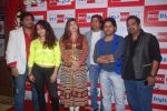 Neha Bhasin, Alka Yagnik, Babul Supriyo, Shaan, Javed Ali, Shankar Mahadevan  at Love is In the air big fm album launch in Big Fm on 1st March 2012 (64).JPG