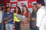 Neha Bhasin, Alka Yagnik, Babul Supriyo, Shaan, Javed Ali, Shankar Mahadevan  at Love is In the air big fm album launch in Big Fm on 1st March 2012 (69).JPG