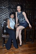 Nargis Bagheri with designer Mona Shroff at post party at China House on 3rd March 2012 (15).JPG