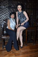 Nargis Bagheri with designer Mona Shroff at post party at China House on 3rd March 2012 (16).JPG