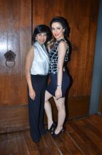 Nargis Bagheri with designer Mona Shroff at post party at China House on 3rd March 2012 (24).JPG