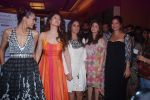 Sangeeta Bijlani, Anita Dongre, Urmila Matondkar, Sushma Reddy, Dipannita Sharma at Anita Dongre Show at lakme fashion week 2012 Day 3 in Grand Hyatt, Mumbai on 4th March 2012 (79).JPG