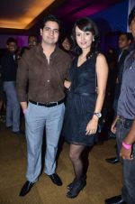 Karan Mehra, Nisha Jamwal at Anita Dongre Show at lakme fashion week 2012 Day 3 in Grand Hyatt, Mumbai on 4th March 2012 (194).JPG