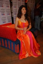Sangeeta Bijlani at Anita Dongre Show at lakme fashion week 2012 Day 3 in Grand Hyatt, Mumbai on 4th March 2012 (321).JPG