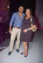 Shweta Kawatra, Manav Gohil at Mayank Anand and Shraddha Nigam Show at lakme fashion week 2012 Day 3 in Grand Hyatt, Mumbai on 4th March 2012 (1).JPG