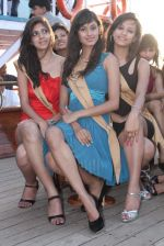 at Beauty contest Atharva Princess 25 finalists boat party in Gateway of India on 5th March 2012 (25).JPG