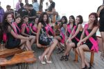 at Beauty contest Atharva Princess 25 finalists boat party in Gateway of India on 5th March 2012 (34).JPG