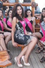 at Beauty contest Atharva Princess 25 finalists boat party in Gateway of India on 5th March 2012 (35).JPG