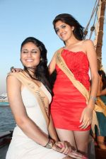 at Beauty contest Atharva Princess 25 finalists boat party in Gateway of India on 5th March 2012 (40).JPG