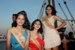 at Beauty contest Atharva Princess 25 finalists boat party in Gateway of India on 5th March 2012 (43).JPG