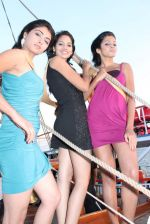 at Beauty contest Atharva Princess 25 finalists boat party in Gateway of India on 5th March 2012 (48).JPG