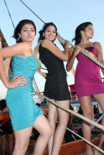 at Beauty contest Atharva Princess 25 finalists boat party in Gateway of India on 5th March 2012 (49).JPG