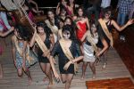 at Beauty contest Atharva Princess 25 finalists boat party in Gateway of India on 5th March 2012 (91).JPG