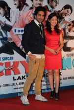 Ayushmann Khurrana, Yami Gautam at the first look at Vicky Donor film in Cinemax on 7th March 2012 (42).JPG