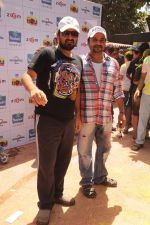 Sajid, Wajid at Zoom Holi celebrations in Mumbai on 8th March 2012 (7).JPG