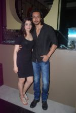 Ashish Sharma, Priyanka Mehta at zindagi tere naam music launch in Mumbai on 9th March 2012 (22).JPG
