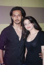Ashish Sharma, Priyanka Mehta at zindagi tere naam music launch in Mumbai on 9th March 2012 (21).JPG