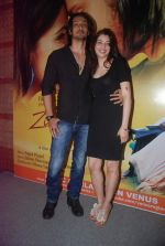 Ashish Sharma, Priyanka Mehta at zindagi tere naam music launch in Mumbai on 9th March 2012 (66).JPG