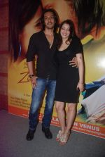 Ashish Sharma, Priyanka Mehta at zindagi tere naam music launch in Mumbai on 9th March 2012 (67).JPG