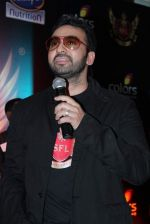 Raj kundra at super fight league event in Mumbai on 10th March 2012 (14).JPG