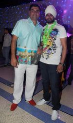 Farzad Billimoria with Ramji gulati at Naughty at forty Hawain surprise birthday party by Amy Billimoria on 12th March 2012.JPG