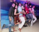 Jasvir Kaur, Farzad and Amy Billimoria , Sandeep Soparkar and Jesse at Naughty at forty Hawain surprise birthday party by Amy Billimoria on 12th March 2012.JPG