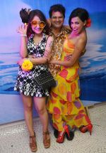 Madhuri Pandey, Viren Shah & Shifanjali Rao at Naughty at forty Hawain surprise birthday party by Amy Billimoria on 12th March 2012.JPG