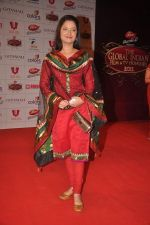 Ankita Lokhande at The Global Indian Film & Television Honors 2012 in Mumbai on 15th March 2012 (380).JPG