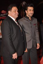 Ranbir Kapoor, Rishi Kapoor at The Global Indian Film & Television Honors 2012 in Mumbai on 15th March 2012 (533).JPG