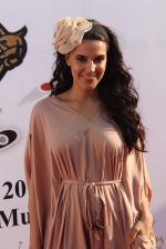 Neha Dhupia at 3rd Asia Polo match in RWITC, Mumbai on 17th March 2012 (34).JPG