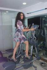 Hasleen Kaur at The Pilates and Altitude Training Studio Launch  in Juhu, Mumbai on 20th March 2012 (58).JPG