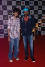 Anirudh Ravichander, Dhanush at Mirchi Music Awards 2012 in Mumbai on 21st March 2012 (51).JPG