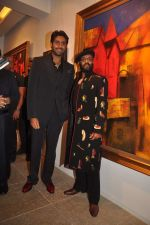 Abhishek Bachchan at Paresh Maity art event in ICIA on 22nd March 2012 (152).JPG