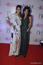 Jacqueline Fernandez, Chitrangada Singh at DVF-Vogue dinner in Mumbai on 22nd March 2012 (73).JPG