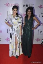 Jacqueline Fernandez, Chitrangada Singh at DVF-Vogue dinner in Mumbai on 22nd March 2012 (75).JPG