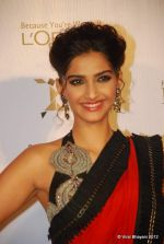 Sonam Kapoor at Loreal Femina Women Awards in Mumbai on 22nd March 2012 (107).JPG