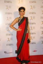 Sonam Kapoor at Loreal Femina Women Awards in Mumbai on 22nd March 2012 (114).JPG