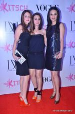 Suzanne Roshan, Anu Dewan, Preity Zinta at DVF-Vogue dinner in Mumbai on 22nd March 2012 (202).JPG