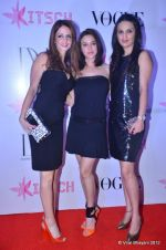 Suzanne Roshan, Anu Dewan, Preity Zinta at DVF-Vogue dinner in Mumbai on 22nd March 2012 (205).JPG