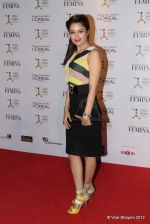 Yuvika Chaudhary at Loreal Femina Women Awards in Mumbai on 22nd March 2012 (177).JPG