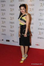 Yuvika Chaudhary at Loreal Femina Women Awards in Mumbai on 22nd March 2012 (178).JPG