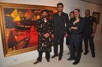 paresh, abhishek and vikram at Paresh Maity art event in ICIA on 22nd March 2012.JPG