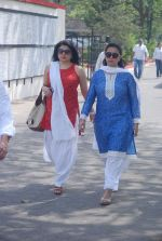 Kiran Sippy, Poonam Dhillon at Mona Kapoor funeral in Mumbai on 26th March 2012 (139).JPG