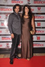 Pooja Bedi, Akashdeep Saigal at Shootout At Wadala promotions in HT Brunch on 26th March 2012 (75).JPG