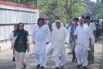 Ranjeet, Javed Akhtar at Mona Kapoor funeral in Mumbai on 26th March 2012 (130).JPG
